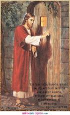 Jesus está à sua porta, receba-o!