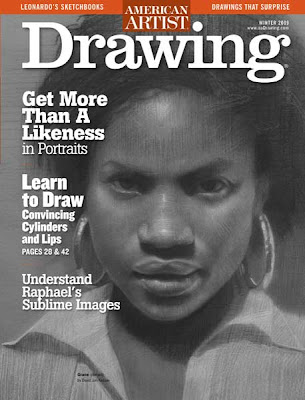 Gca instructor jon demartin has an article in the current issue of american artist drawing magazine called drawing fundamentals the cylinder