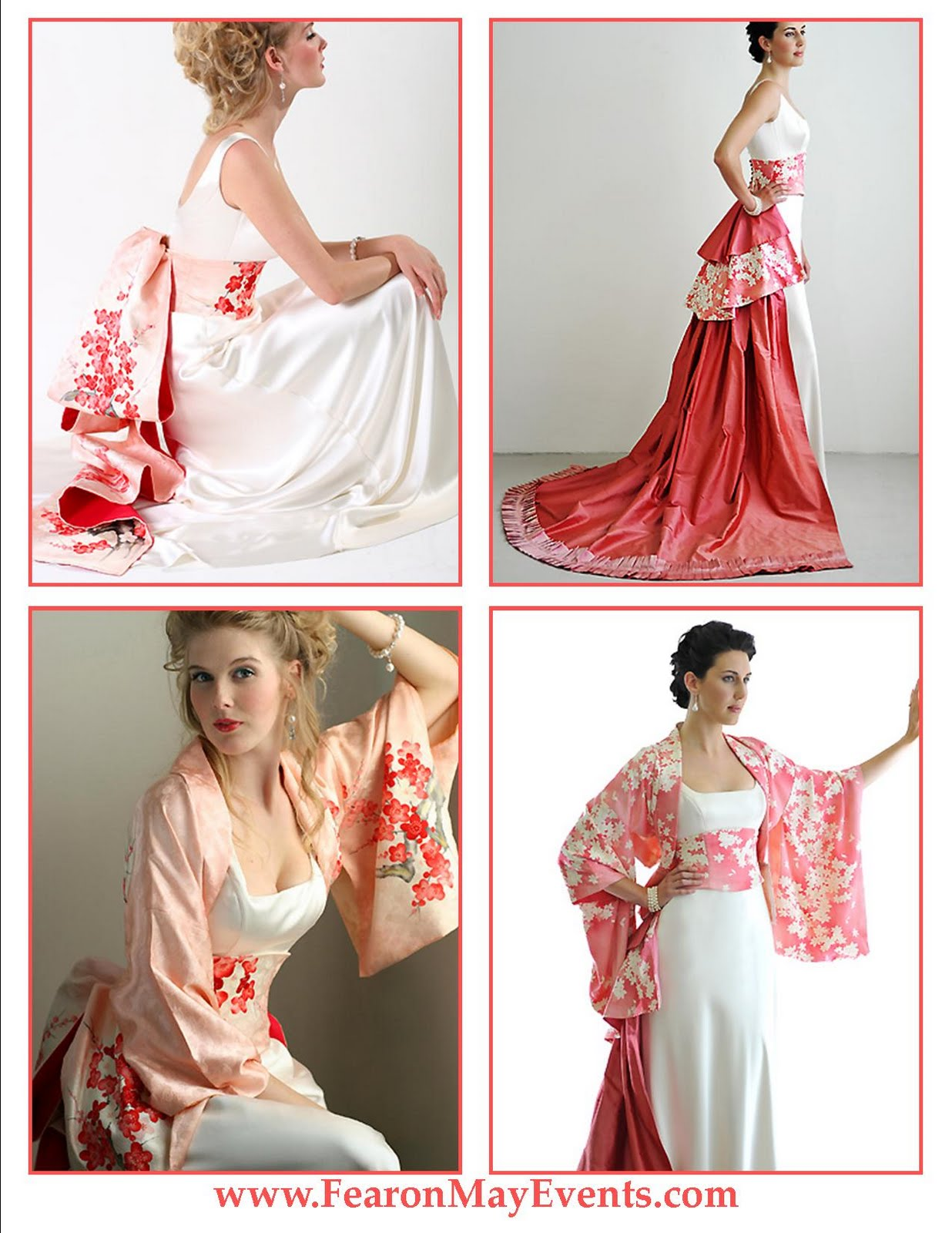 Asian Inspired Wedding Gowns - Fearon May Events