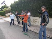 El equipo de rodaje