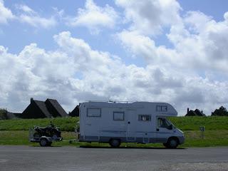 Auto Caravana en Normandia, Francia...