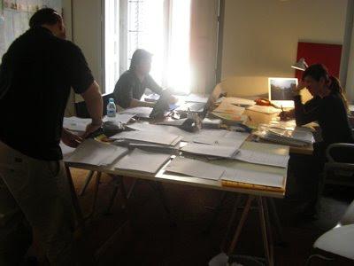 Trabajando en la preproducción