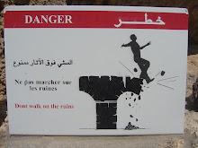 non camminare sulle rovine