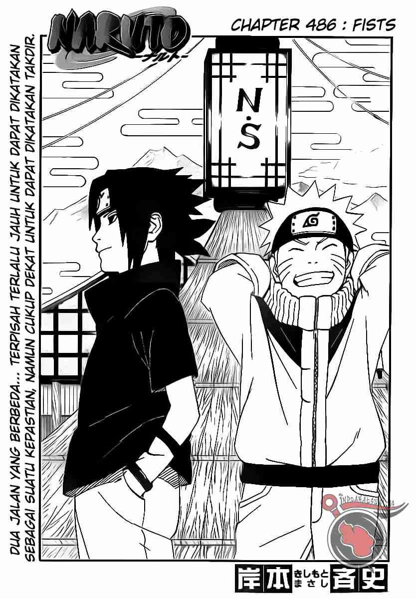 naruto ch486 01 Naruto 486   Tinju