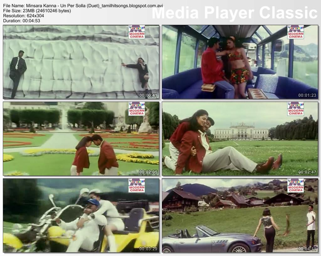 Un per solla video song | minsara kanna | vijay, monica youtube.
