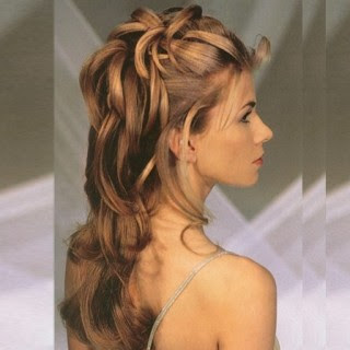 penteado bonito para madrinha do casamento