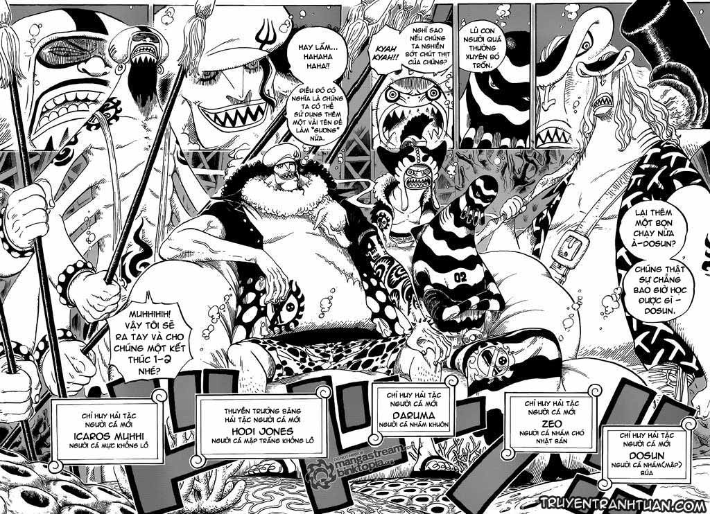 One Piece Chap 611