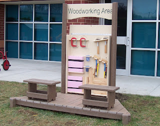woodworking area
