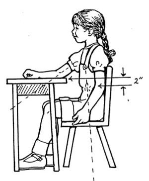 Ot Pt Moment Correct Sitting Posture