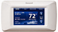 thermostat ambiance programmable digital honeywell
