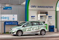 mercedes benz classe b f-cell voiture hybride pile a combustible batteries