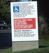 Law affects every aspect of American life, including parking lots. Note the citations to statutes o