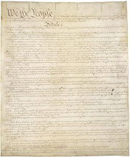 The United States Constitution, the supreme law of the United States