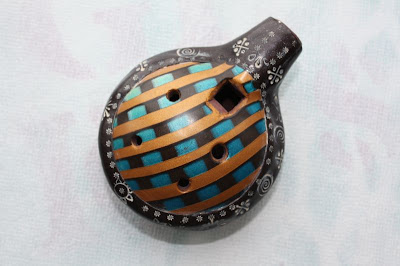 Polymer Clay Ocarina by Violette Laporte