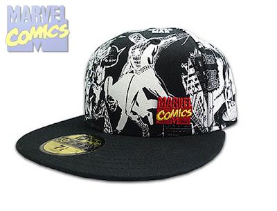 Caps New Era Marvel New Era Marvel Comics All Over