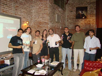 Karma, Martín, Never, Dayana, Pulpo, Johnny Tres dedos, Alew y Gargantúa