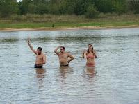 baile sensual en el agua