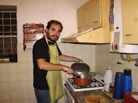 Pulpo Cocinando