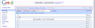 Gmail Web Clips screenshot