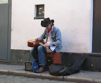 slide-guitar player