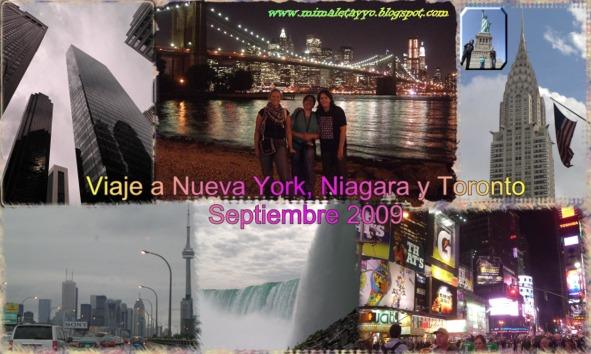 Viaje a Nueva York, Niágara y Toronto
