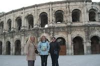 Anfiteatro de Nimes, Francia