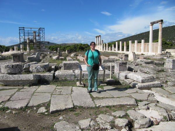 Santuario de Epidauro (Tholos y Enkoimetérion)