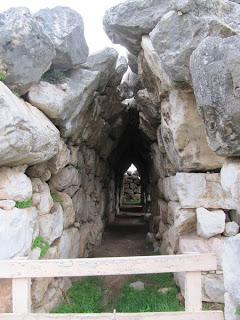 Pasadizos de Tirinto
