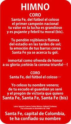 himno de bogota: