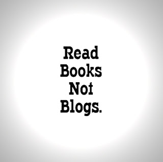 Read books not blogs