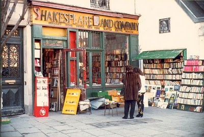 Shakespeare and Company, Paris, França