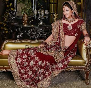 In Lanka Sri Wedding Saree Blouse Designs