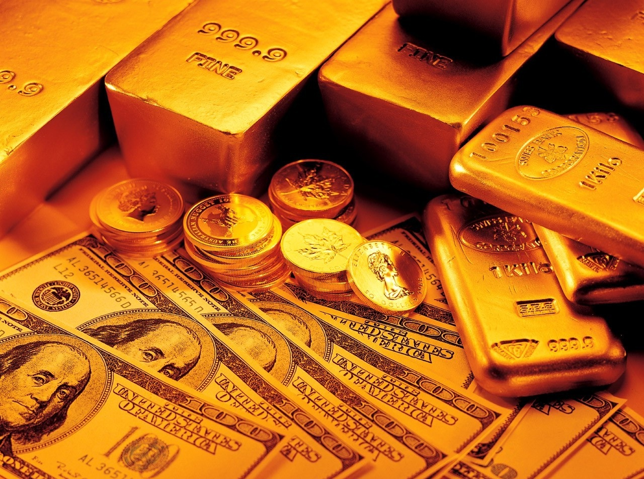 Wallpapers Box Money And Gold Bars Hd Wallpapers