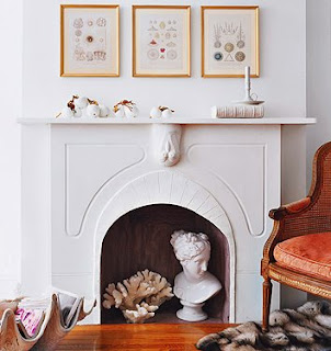 Holy vataha what to do with a non working fireplace - Non working fireplace decor ...