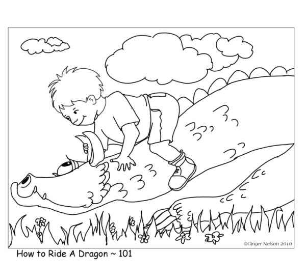 Ginger Nielson ~ An Illustrator's Journal: The Dragon