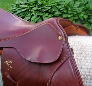 Pessoa Saddles For Sale: SOLD- Pessoa A/O 17 W #10004 Exceptional