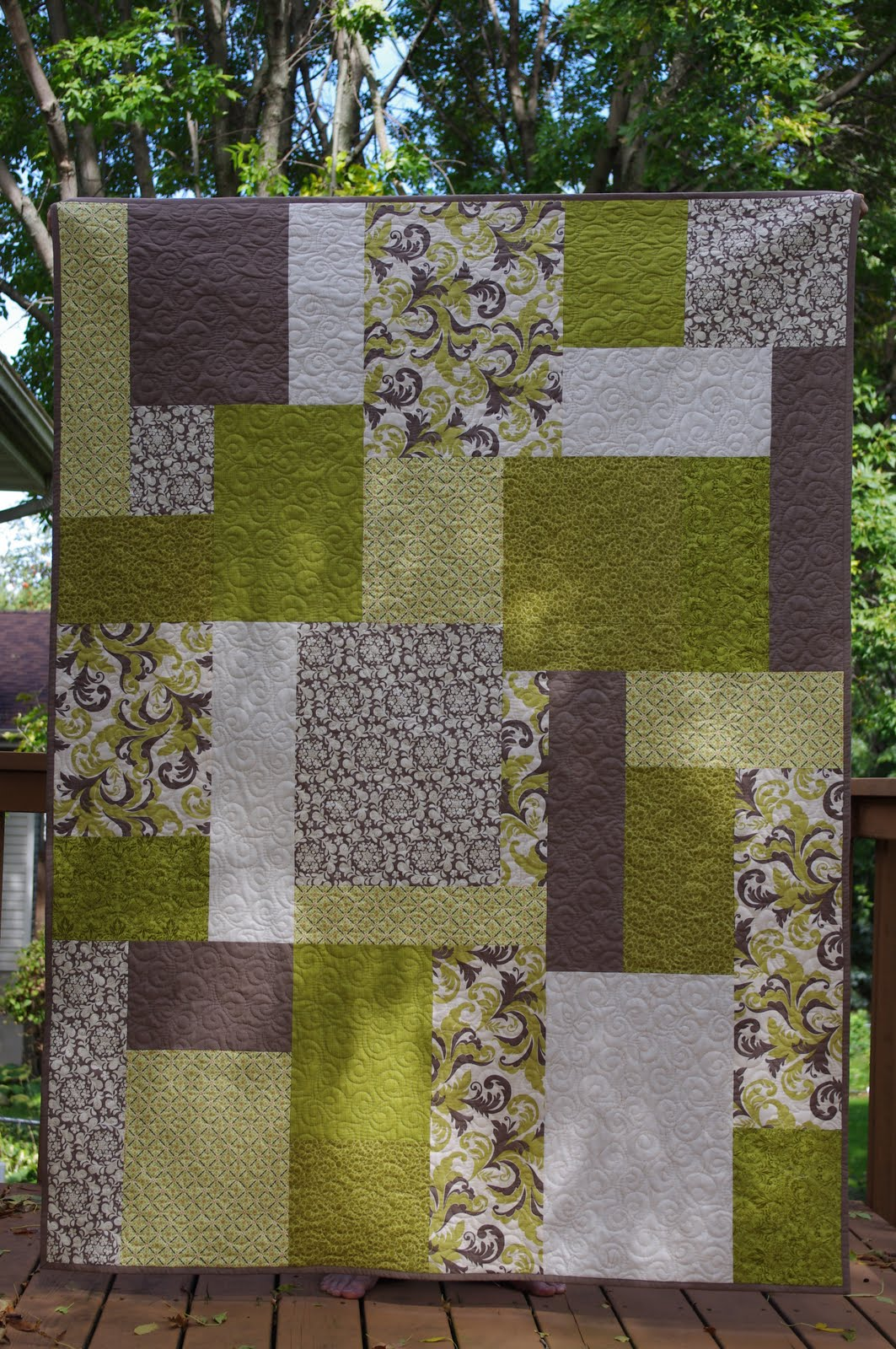 Ahhh...Quilting: Alex's Wedding Quilt : wedding quilt block pattern - Adamdwight.com