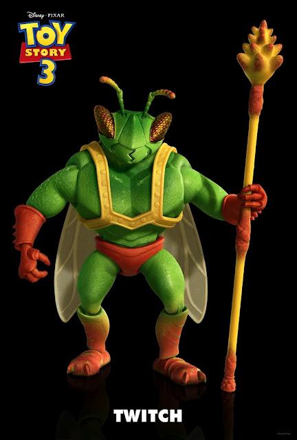 slashfilmが独占公開した、ディズニー・ピクサーが約10年ぶりに復活させる大ヒット・シリーズの最新作「トイ・ストーリー3」に登場する新キャラクターの昆虫戦士