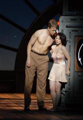 Nude opera singer