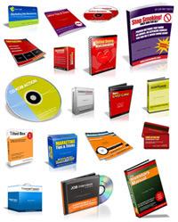 sampletemplatessmall Cover Action Pro para Photoshop   Crie capas de CD/DVD, Livros, etc