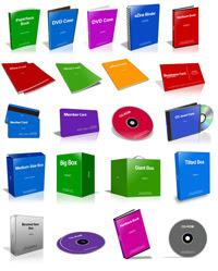 samplecoverssmall Cover Action Pro para Photoshop   Crie capas de CD/DVD, Livros, etc