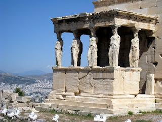Athens, Greece - Erechteion