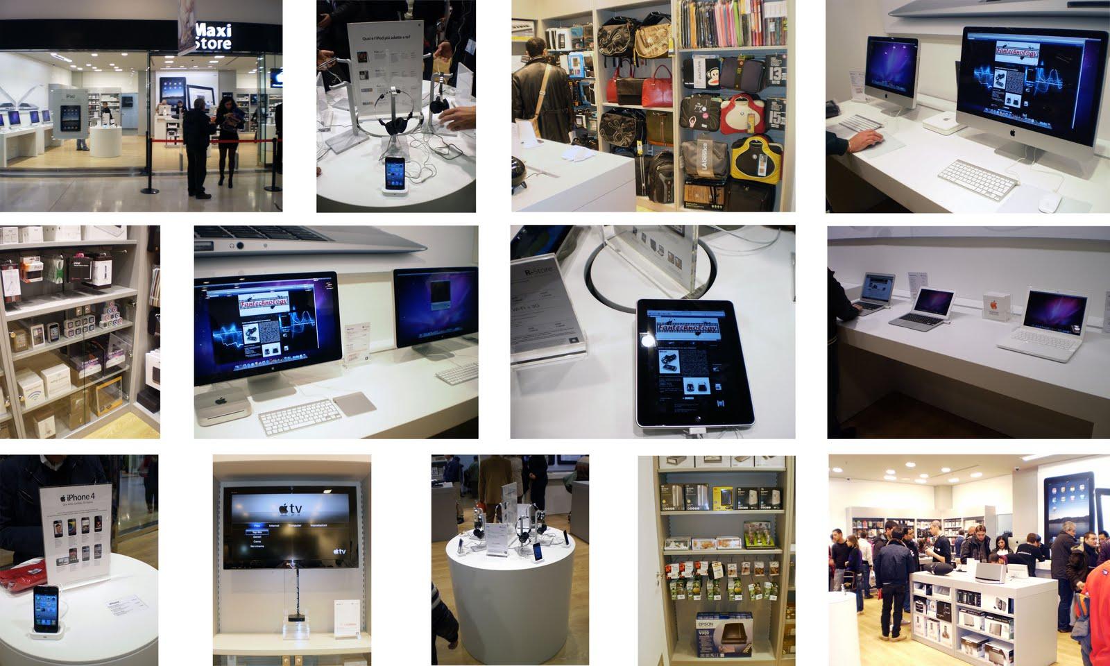 timeless design 6998d 06f4d Fantechnology: Apre il nuovo Maxi Store Apple, Potecagnano ...