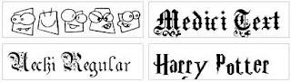 fonts500 1500 Daftar Font Gratis