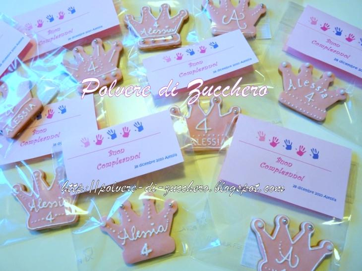 Biscotti Decorati Per Un Compleanno La Coroncina Da Principessina