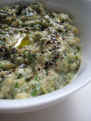 Almost Turkish Recipes: Zucchini Salad with Yogurt (Yoğurtlu Kabak ...
