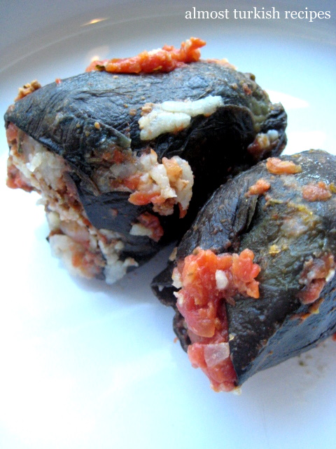 Dried Eggplant Dolma