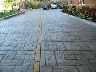 Enconcreto usos del concreto estampado for Cemento estampado precio