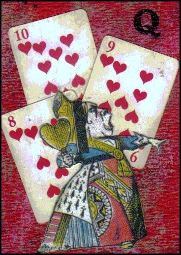 alice in wonderland cartoon cards. TMTA - Alice in Wonderland