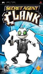 Secret Agent Clank Cover
